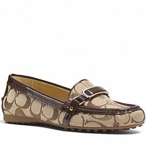 Coach Flynn slip-on loafer shoes